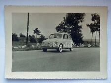 FIAT 600 AUTO car automobile vecchia foto cartolina old photo 2