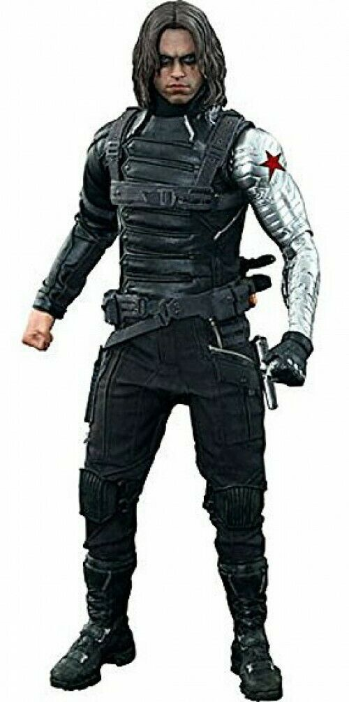 The Winter Soldier Movie Masterpiece Winter Soldier samlaible Figur