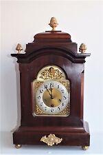 55cm verticale Nouveau JUNGHANS Kaminuhr stupendo orologio da tavolo Mer westminste melodia e bronzo