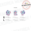 BT21-Baby-Character-Wappen-Badge-S-amp-L-Size-Official-K-POP-Authentic-Goods miniature 9