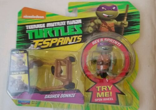 NEW TEENAGE MUTANT NINJA TURTLES T-SPRINTS DASHER DONNIE /& PATROL BUGGY