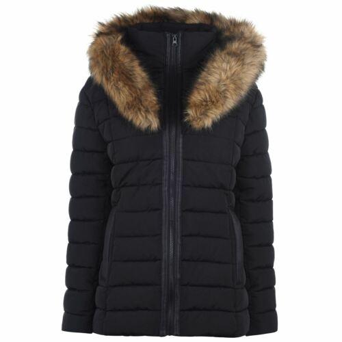Golddigga Womens Clothing Bubble Jacket Coat Top Long Sleeve Casual Warm Winter
