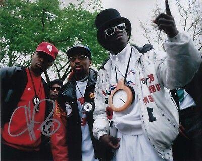 Chuck D Signed Autographed 8x10 Photo Proof C5 Coa Careful Gfa Public Enemy Rapper