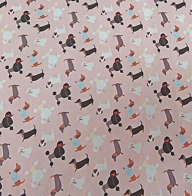 London buses Ivory 100/% Kids Cotton Poplin Prints Dress Craft Fabric  FREE P /& P