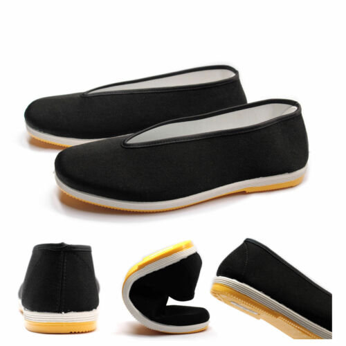 Traditional Tai-Chi //Kung Fu Shoes Unisex Canvas Sport Slipper Shoes Rubber Sole