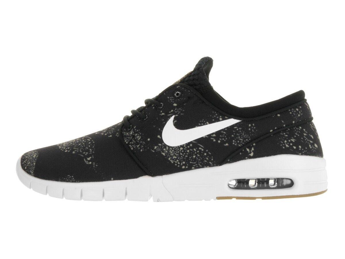 Nike SB Stefan Janoski Max PRM Men's Skateboarding Shoes Black 807497 002