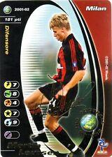 FOOTBALL CHAMPIONS 2001-02 Martin Laursen Milan PROMO PRINTED SIGN