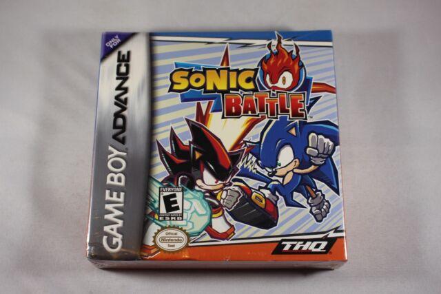 Sonic Battle (Nintendo Gameboy Advance GBA) NEW Factory Sealed Near Mint