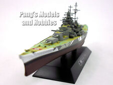 Battleship Tirpitz Germany 1/1100 Scale Diecast Metal Model Ship by Eaglemoss