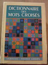 Dictionnaire des Mots Croisés/ Larousse-France Loisirs, 1995
