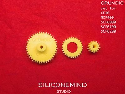 Gear for GRUNDIG CF 40 SCF 6100 SCF 6000 SCF 6200 MCF 400