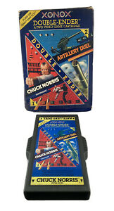 ⭐️ 1983 XONOX USA made Chuck Norris Atari 2600 VCS System Game in Box Auth. 🎏
