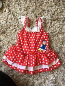 Disney-Store-Daisy-Duck-Baby-Girls-Swimming-Costume-3-6-Months
