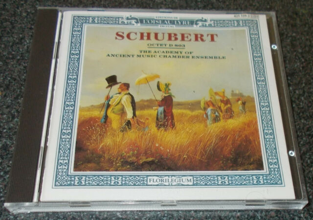 (hm823) Schubert Octet D 803 Academy of Ancient Music Chamber Ensemble 1990  CD