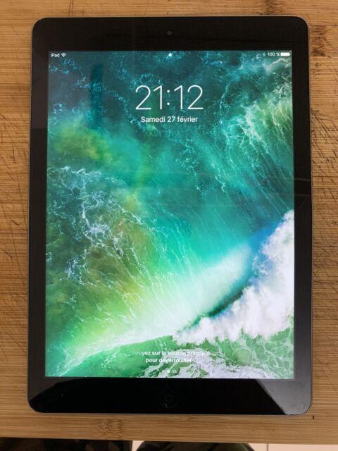 "Apple iPad Air (1ère génération) 9,7"" 16 Go Wi-Fi Tablette - Gris Sidéral"