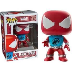 Spider-Man-Scarlet-Spider-US-Exclusive-Pop-Vinyl-Figure-NEW-Funko