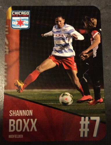2015 Chicago Red Stars Shannon Boxx Team Issue Card USA Soccer Rare