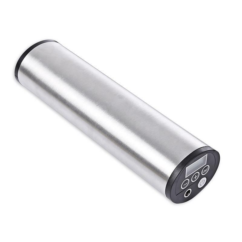Rechargeable Electric Portable Bicycle Bike  Pump Tire Inflator With Lcd Display  large selection