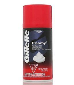 Gillette-Foamy-Shave-Foam-Regular-11-oz-Pack-of-6