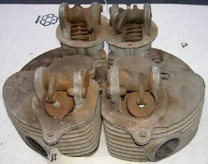 1953-59-AJS-Matchless-G9-500cc-pair-cylinder-heads-N
