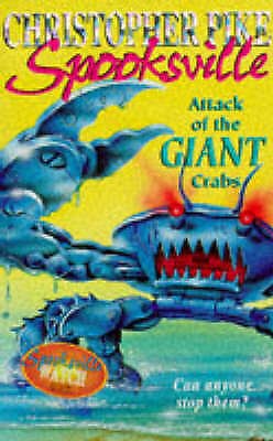 The Attack of the Killer Crabs (Spooksville), Pike, Christopher, Good Book