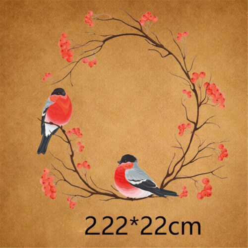 hot!bird iron on transfer embroidery patch flower heat transfers for clothes IO