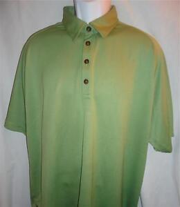 Orvis-Men-039-s-Light-Green-Short-Sleeve-Polo-Shirt-Sz-XL