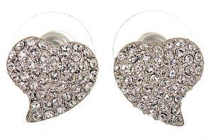 df6df37a169c Image is loading Swarovski-Elements-Crystal-Alana -Heart-Pierced-Earrings-Rhodium-