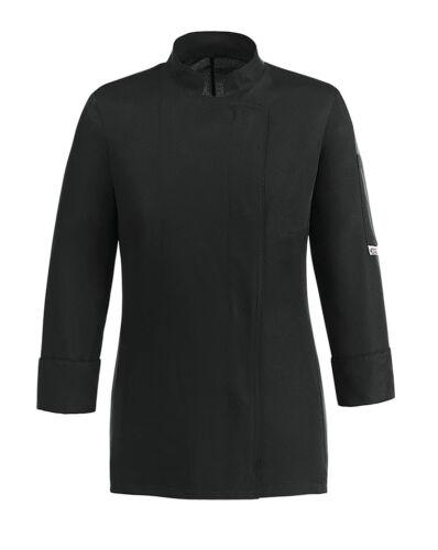 GIACCA CUOCO DONNA BLACK EASY GIRL EGOCHEF NERA JACKET Kochjacke куртка