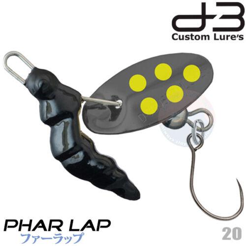 D-3 Custom PHAR LAP 2.5 g Assorted Colors Trout Spinner