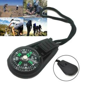 Cute Portable Compass Survival Hiking Camping Direction Outdoor high W4R9