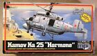 "Vintage MPC Kamov KA 25 ""hormone"" 1/72 Scale Helicopter Model Kit 1983"