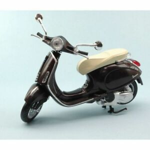 NEW-RAY-1-12-MOTO-DIE-CAST-VESPA-PRIMAVERA-MARRONE-METALLIZZATO-ART-57553