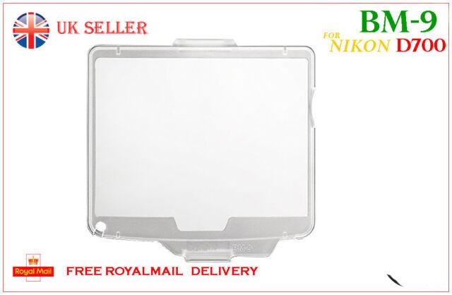 BM-9 rigido LCD COVER PROTEGGI SCHERMO per Nikon D700