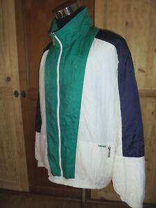 vintage-HEAD-Nylon-Jacke-sports-jacket-80s-shiny-oldschool-Trainingsjacke-L-XL