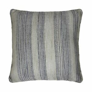 LUXURY-FUNKY-BLUE-BEIGE-THICK-WOVEN-STRIPE-STRIPED-CUSHION-COVER-17-034-43CM