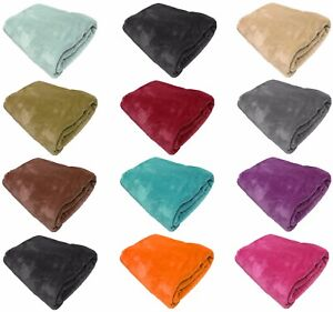 FAUX-FUR-FLEECE-THROW-SOFT-WARM-MINK-LARGE-SOFA-BED-BLANKET-10-COLOURS-4-SIZES
