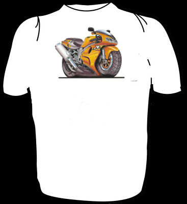 6 Tailles Koolart chemise-Suzuki TL 1000 R-jaune