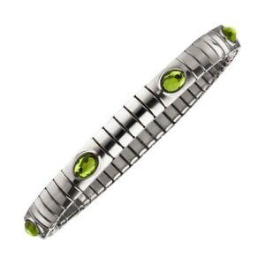 Magnetix-Armband-Flexi-4598-Kristallsteine-Gruen-Breite-6mm-Magnetschmuck