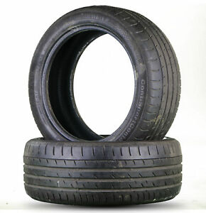 2x-Continental-SportContact-SSR-3e-245-45-r18-96y-5-5-mm-pneus-d-039-ete-18-in
