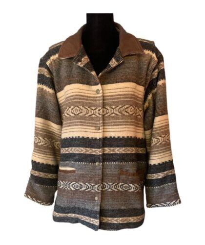 Woolrich Indian Blanket Jacket Vintage Southwester