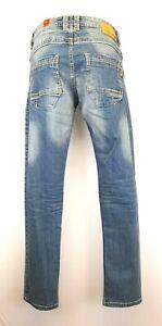H25) Marken TIMEZONE Herren Jeans Slim Edward Gr. W30 L34 Neu 79,95€