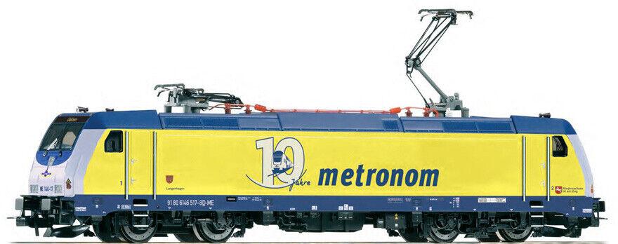 Piko H0 59145 Locomotora Eléctrica Serie 146.2 el Metronom, Época VI Nuevo Ovp