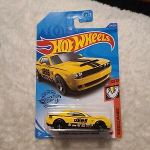 2020 Hot Wheels /'18 Dodge Challenger SRT Demon Muscle Mania 10//10 Neu /& OVP