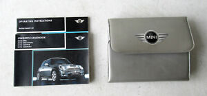 Genuine Used MINI Owners Handbook Case / Wallet / Book Pack for R50 R52 R53 #29