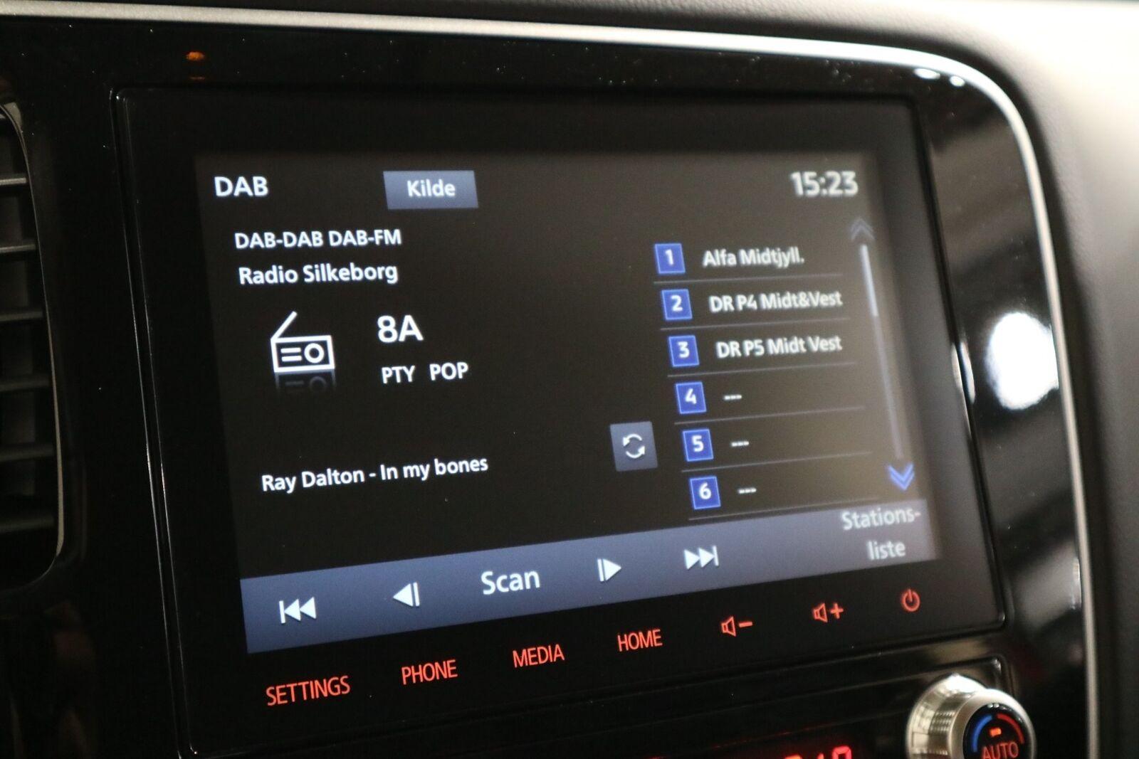 Mitsubishi Outlander 2,4 PHEV Intense CVT 4WD - billede 8