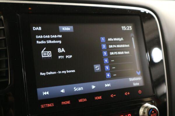 Mitsubishi Outlander 2,4 PHEV Intense CVT 4WD billede 8