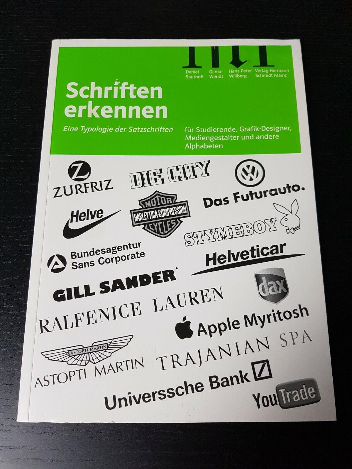 Schriften erkennen - Eine Typologie der Satzschriften - Taschenbuch - Grafik