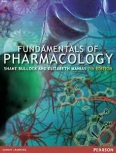 NEW-3-DAYS-to-AUS-Fundamentals-of-Pharmacology-by-Bullock-Manias-7-Ed