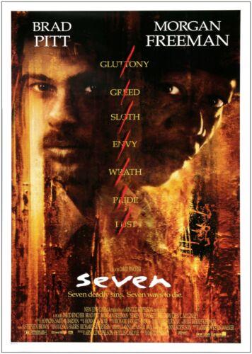 Seven Classic Movie Large Poster Art Print Maxi A0 A1 A2 A3
